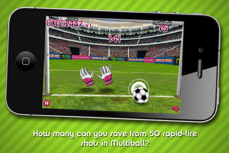 Flick Football Super Save screenshot-4