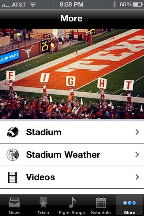Texas Longhorns Football Trivia and More screenshot-3