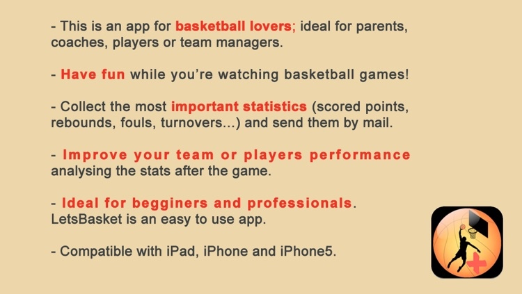 LetsBasket+ [Your Hoop Stats and Score Book, Scoreboard, Timer and Scouting for coach & parents] screenshot-4