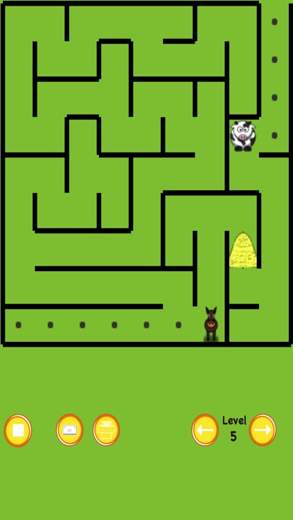 Horse Maze Race screenshot-0