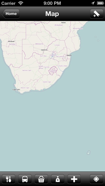 Offline South Africa Map - World Offline Maps
