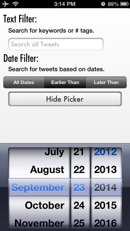 Tweet Cleaner - Search and Delete Your Twitter Tweets