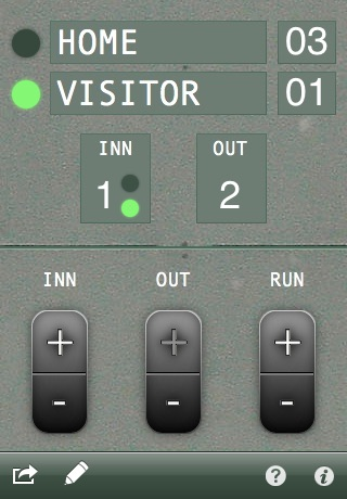 Count Keeper - Baseball and Softball score and count tracker screenshot-4