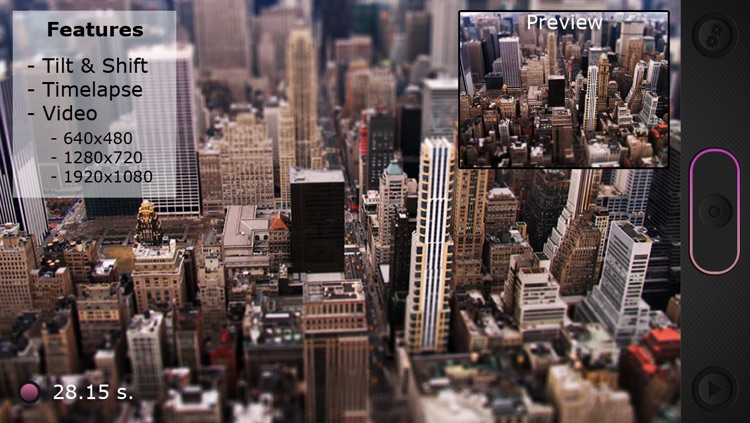 Miniatures: Tilt-Shift Time-Lapse Videos