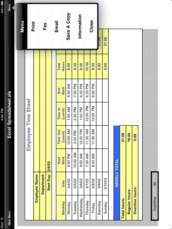 Fax Print & Share for iPad screenshot-4