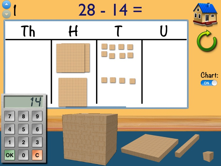 Place Value MAB Subtraction screenshot-3