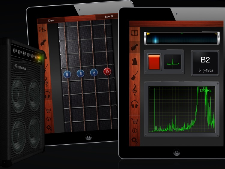 Guitar Suite HD - Metronome, Tuner, and Chords Library for Guitar, Bass, Ukulele screenshot-3