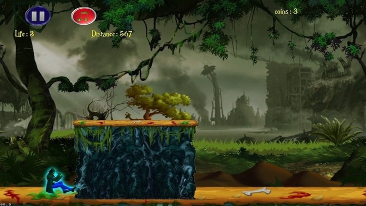 Hidden Temple -Jungle Adventure Fun Free dash game screenshot-4