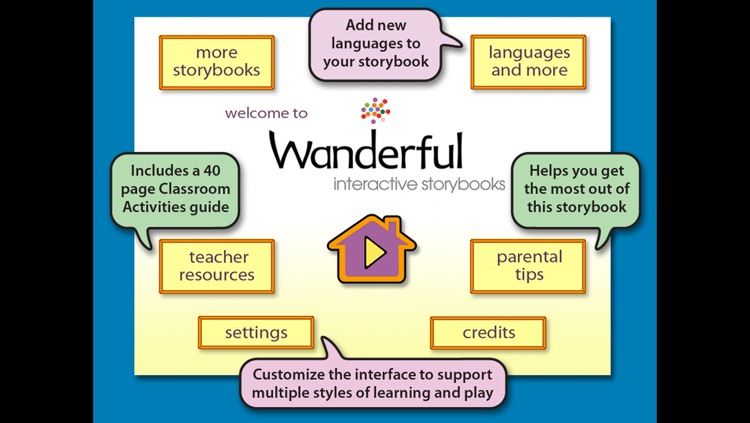 Arthur's Birthday - Wanderful interactive storybook in English and Spanish screenshot-4