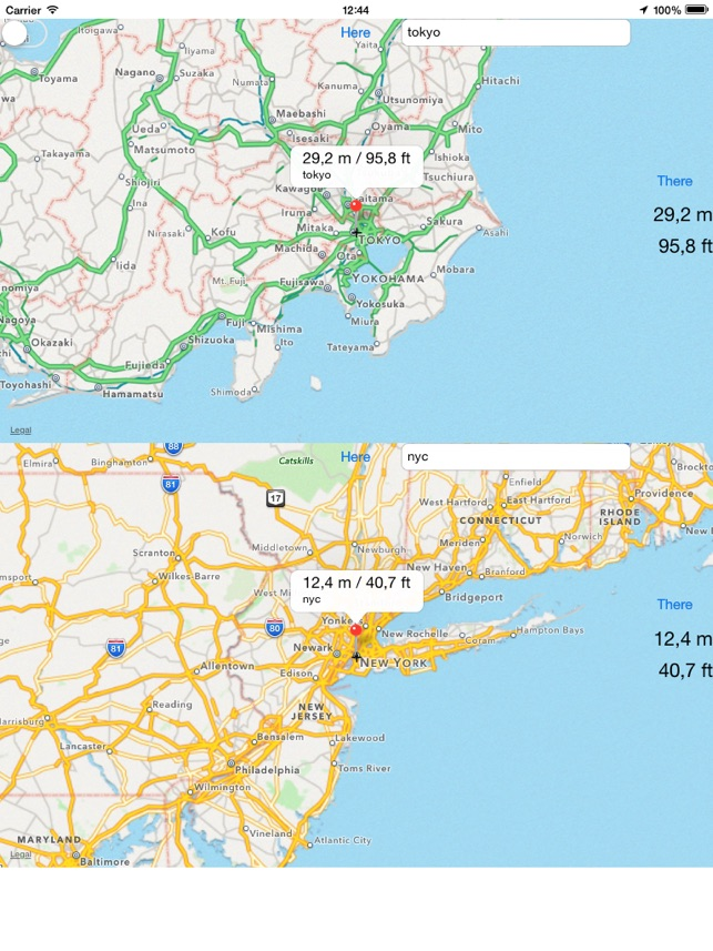 Map Altimeter For IPad On The App Store - Altimeter map