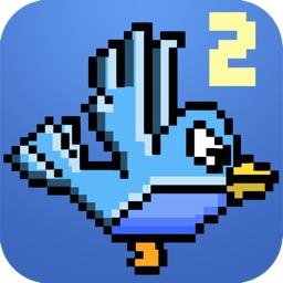 Smash The Blue Bird-ie 2 - Hard-est Flappy Resurrection Of Tiny Fatty Yeet