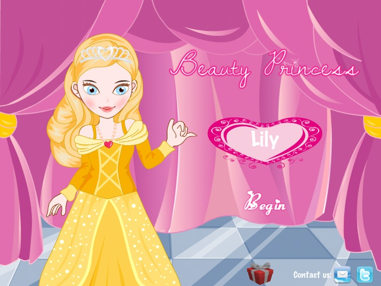 Beauty Princess HD: Dress up and Make up game for kids screenshot-4
