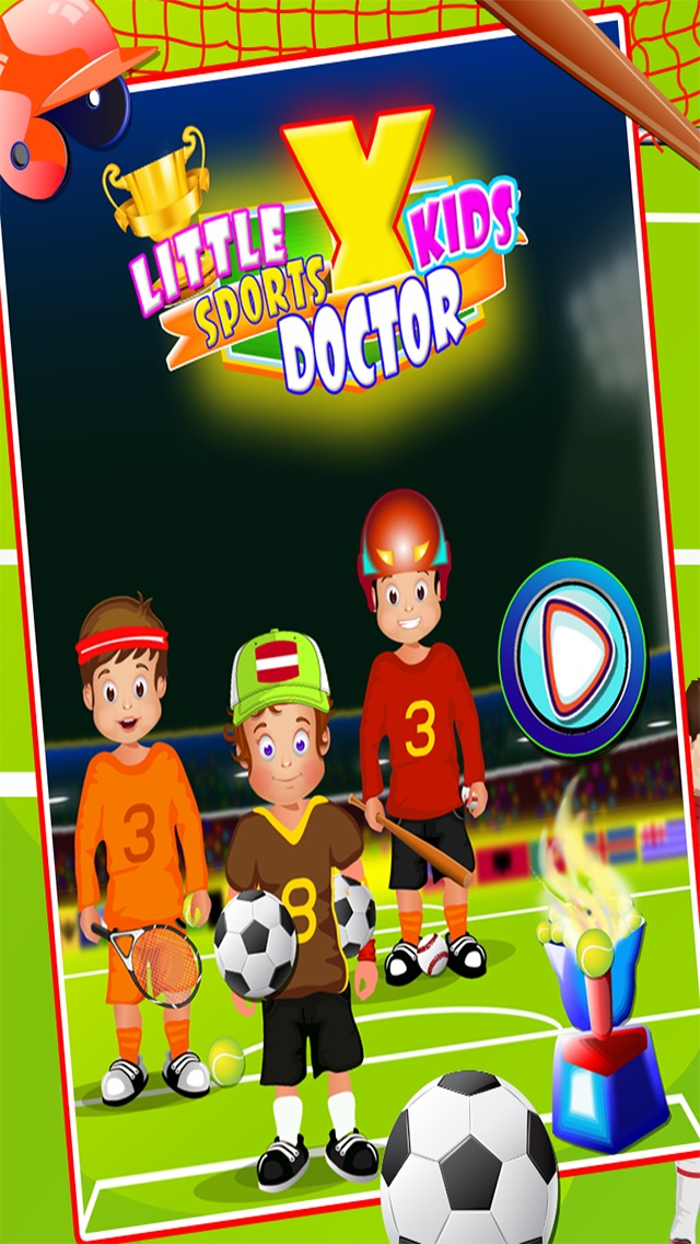 Kids Sport Doctor X - Play Out Door sports & Care Treatment Games