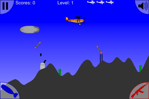 Bomber Zone Lite (FREE) screenshot-1