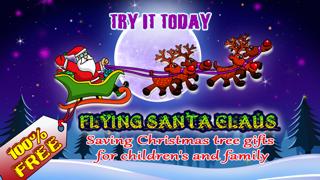 Flying Santa Claus – Saving Christmas tree gifts for