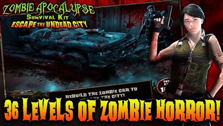 Zombie Apocalypse Survival Kit: Escape the Undead City