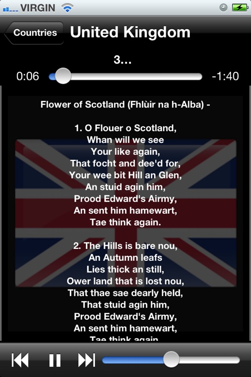 World National Anthems (With Lyrics) screenshot-4