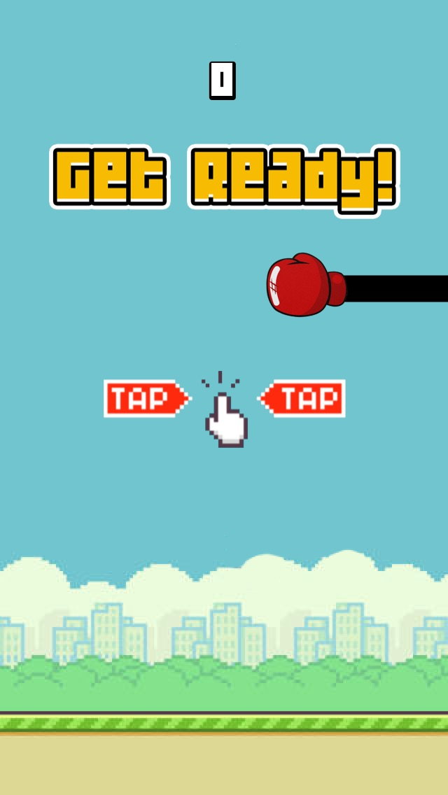 Flappy Punch FREE - The End of a Tiny 2048 Bird - by