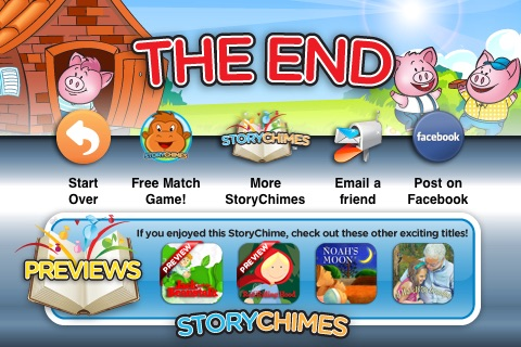 Three Little Pigs StoryChimes (FREE) screenshot-4