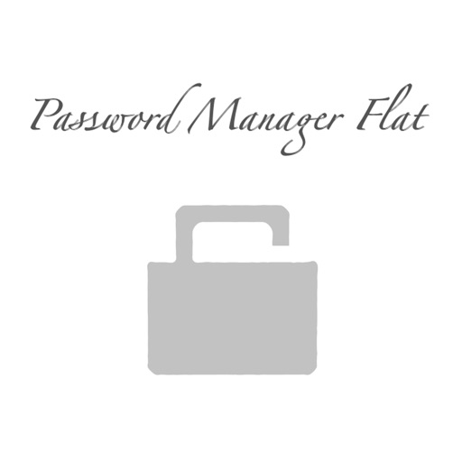 Password Manager Flat
