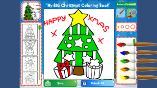 クリスマスぬりえブックのおすすめ画像1
