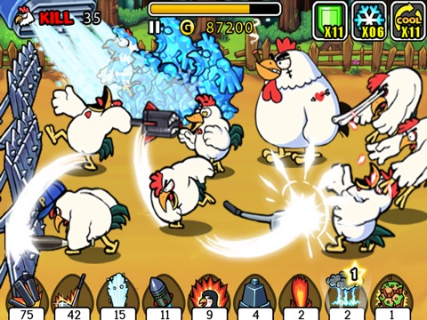 Chicken Revolution Скриншоты10