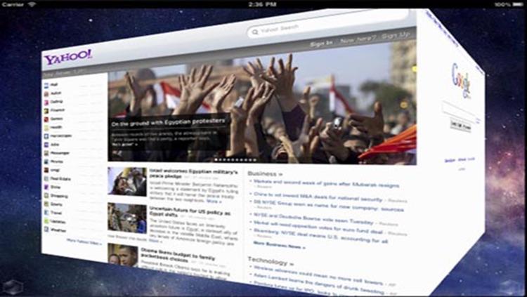 3D Web Browser HD screenshot-3