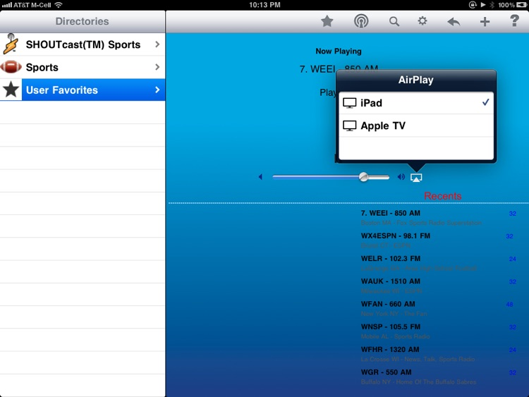 Sports Radio - iPad Edition screenshot-4