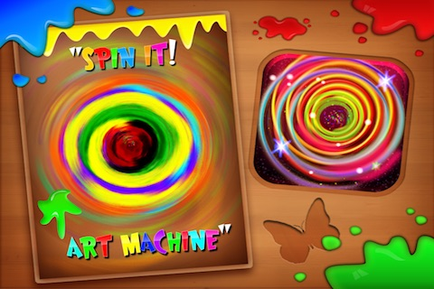 Spin It! Art Machine