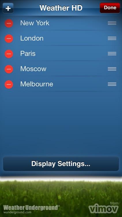 Weather HD Classic screenshot-4