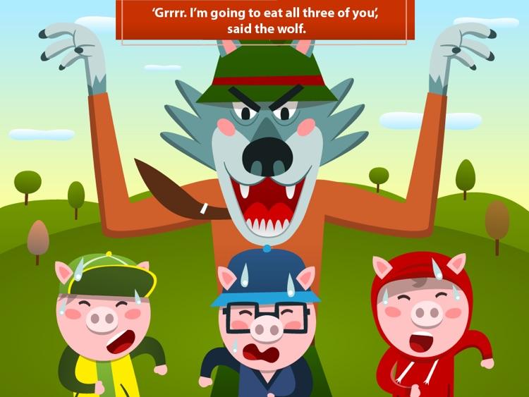 Three little pigs Lite - Playbook screenshot-3