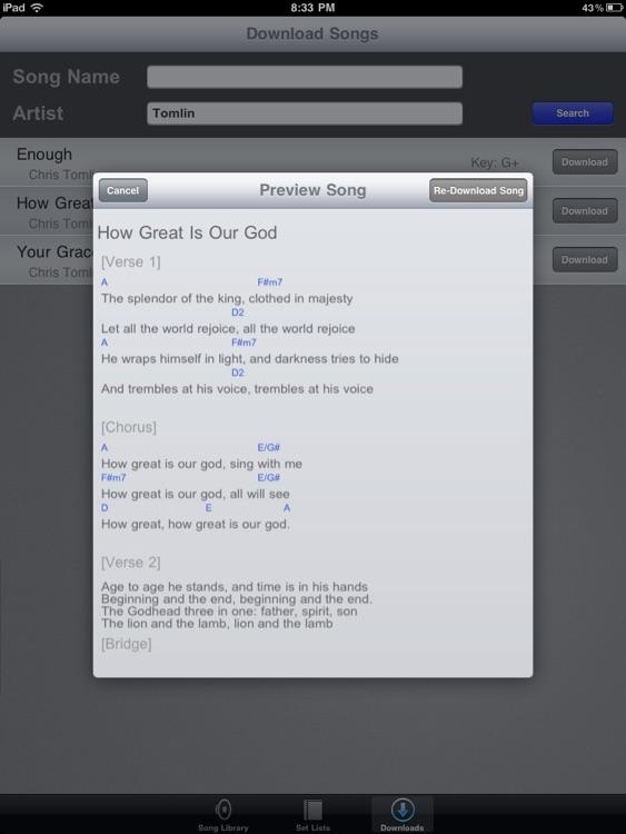 iChordChart screenshot-3