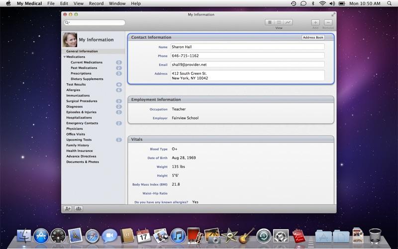 超实用医疗记录工具 My Medical for Mac