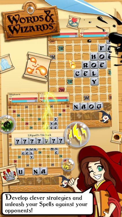 Words & Wizards HD Free