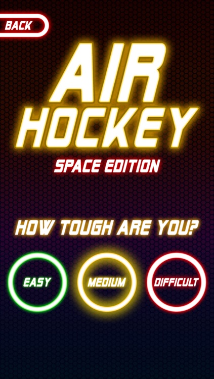 Air Hockey : Space Edition