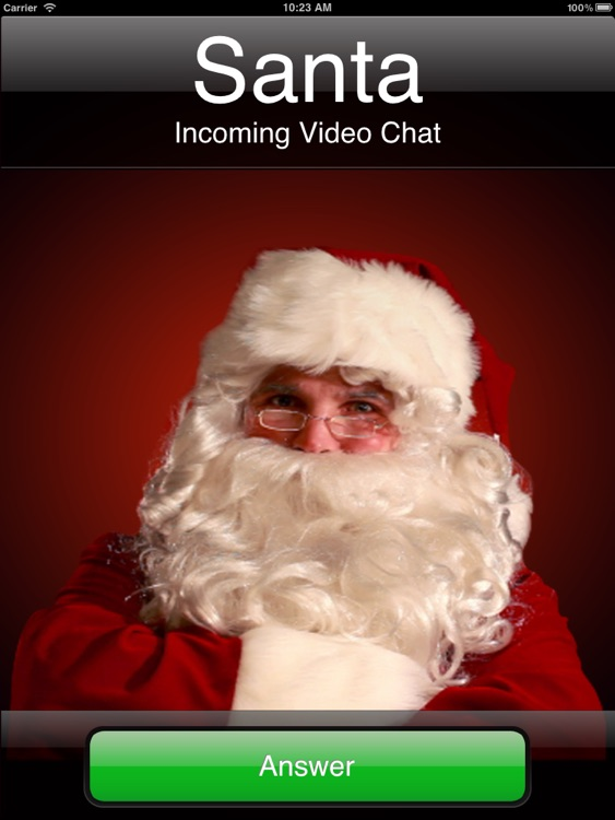 Santa's Video Chat HD screenshot-1