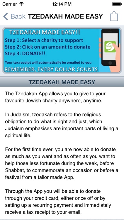 Tzedakah - donate to charity and help those less fortunate