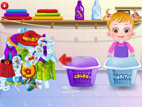 Baby Learn Washing Clothes-ipad-1