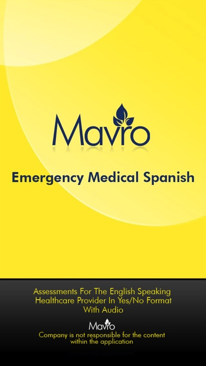 AUDIO- Medical Spanish (EMSG)