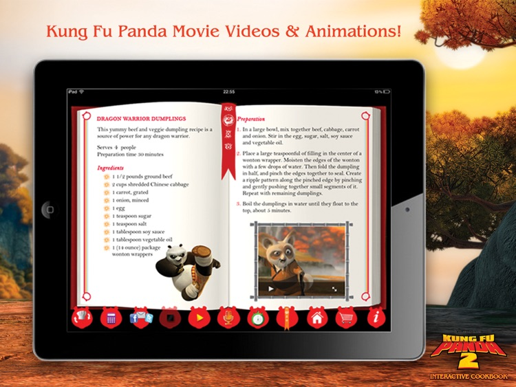 Kung Fu Panda 2 Interactive Cookbook screenshot-4