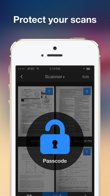 Scanner+ Pro scan documents into PDF screenshot-4