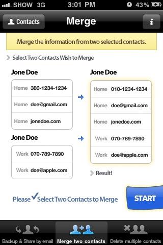 Contacts Backup Management - Contact Manager Screenshot 4