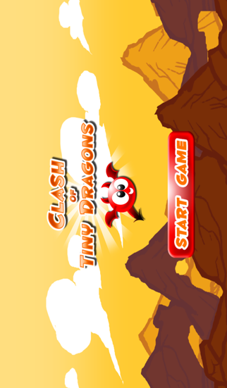 A Clash of Tiny Dragons - Reign of Mini Rage Legends Against Cryptid Dragon Clans - Free Flying Gameのおすすめ画像1
