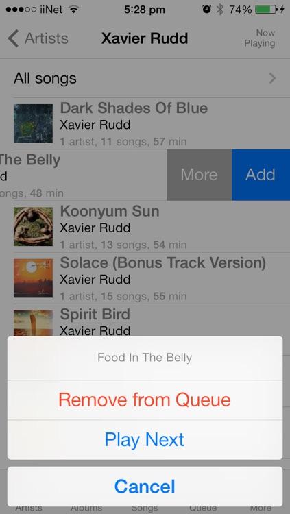 Music Queue Player screenshot-3