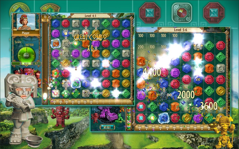 Screenshot #2 for The Treasures of Montezuma 2 (Full)