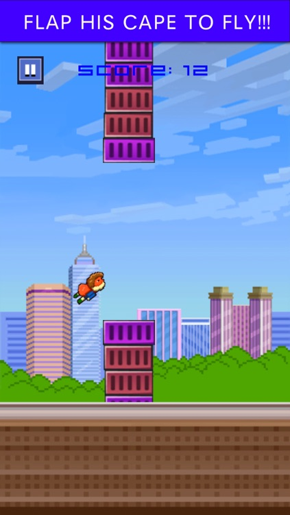 Smashy Man Bird - Super Splashy Hoppy Wings Flyer