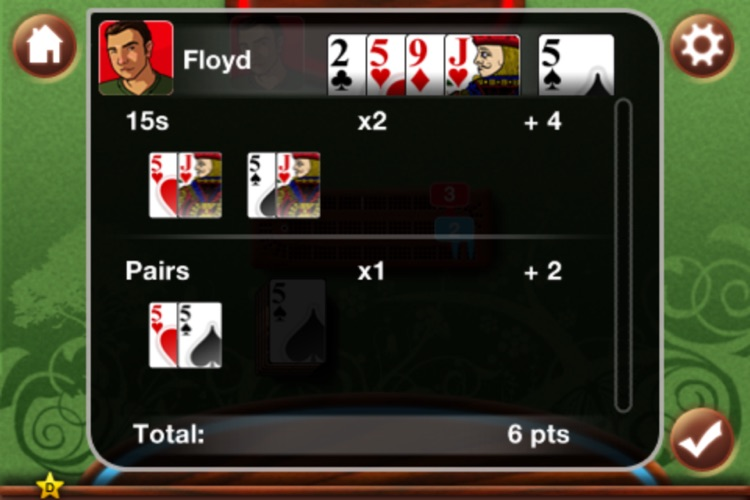 Cribbage King screenshot-3