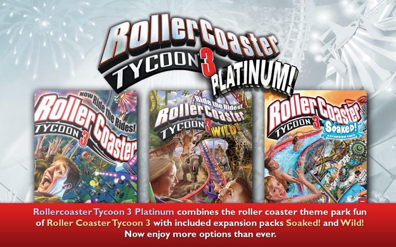 roller coaster tycoon 3 slow on mac