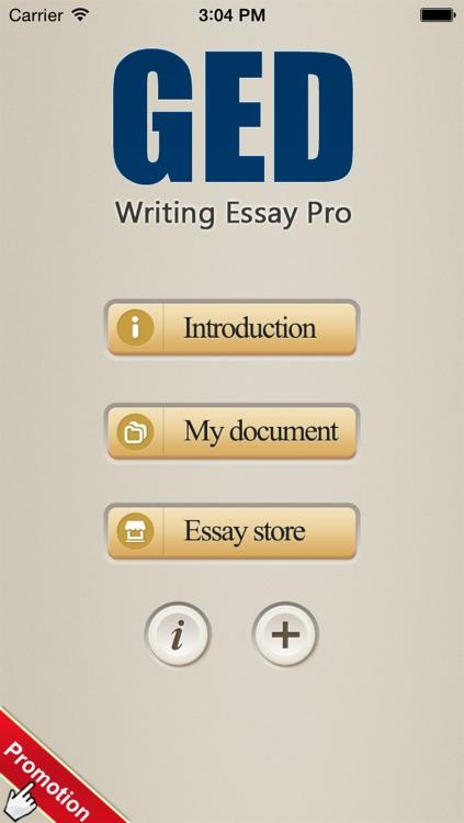 GED Writing Essay Pro