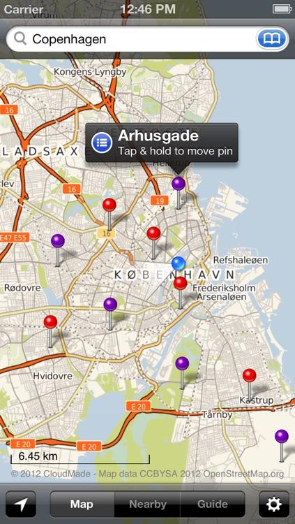 Smart Maps - Copenhagen screenshot-4